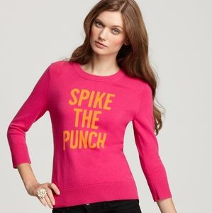 Kate Spade | Spike the Punch cashmere wool sweater